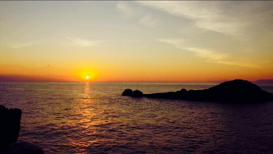 pelion-sunset