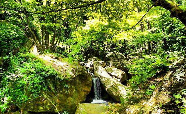 pelion-waterfall